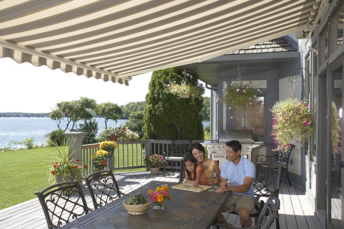 The Somfy Motorization Used In Our Electric Powered Awnings Are Universally Acknowledged As Finest Awning Motors World
