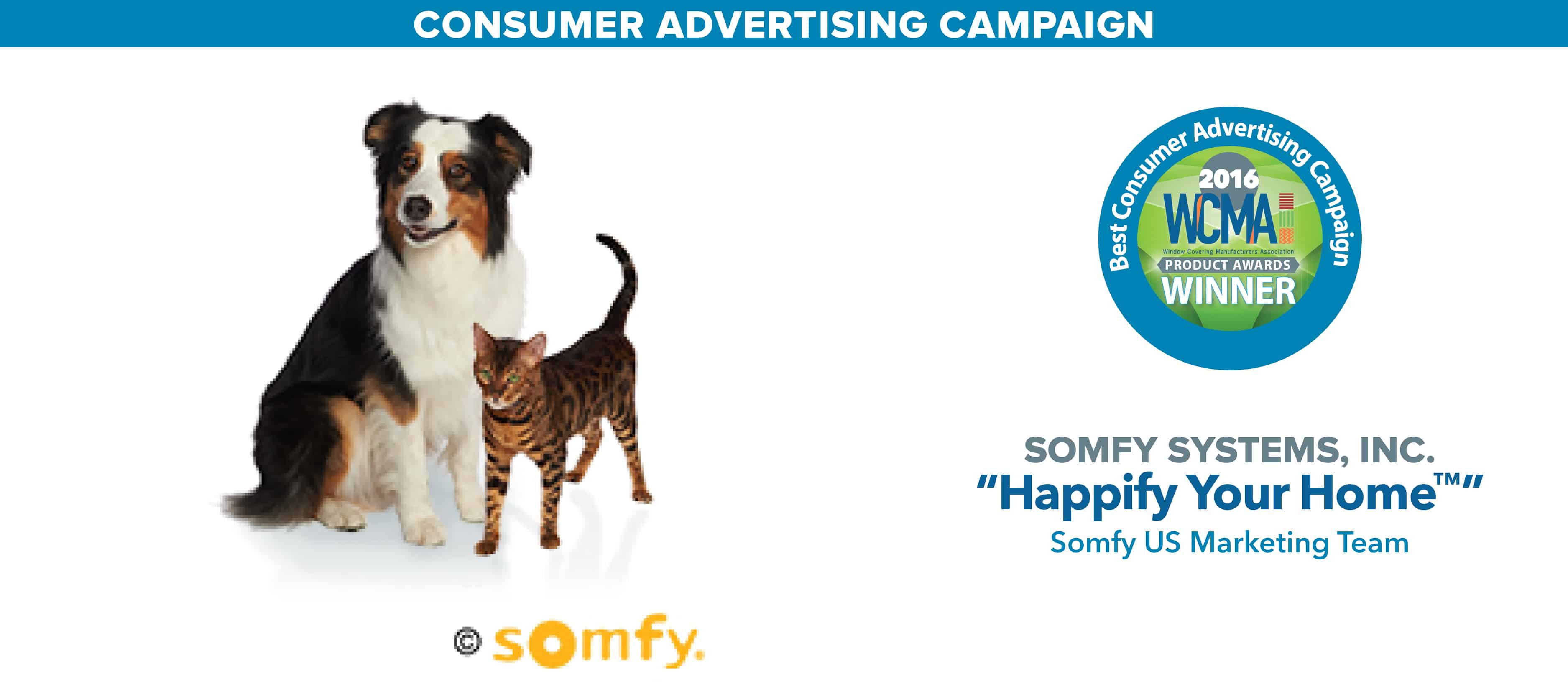 Ontario Quality Motors >> Somfy Takes Home WCMA Award for Best Consumer Advertising ...