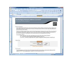 SDN Address Converter