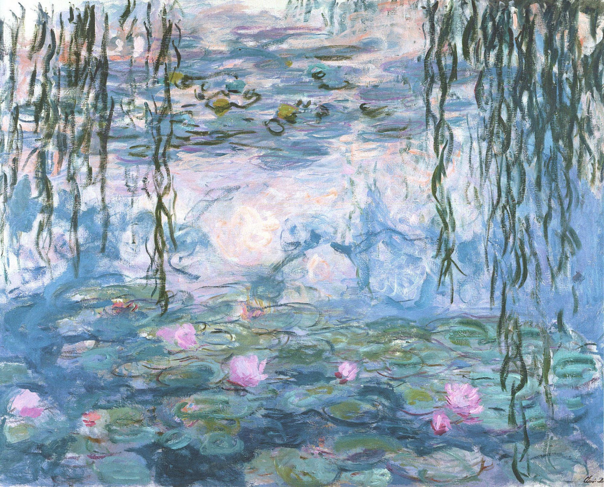 Interior Inspiration Monets Water Lilies