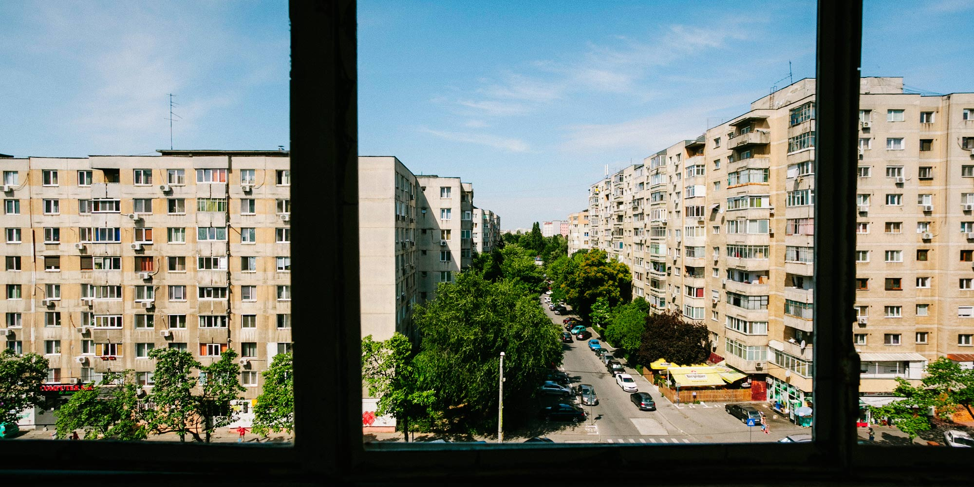 The View From Cristian S Window In Bucharest
