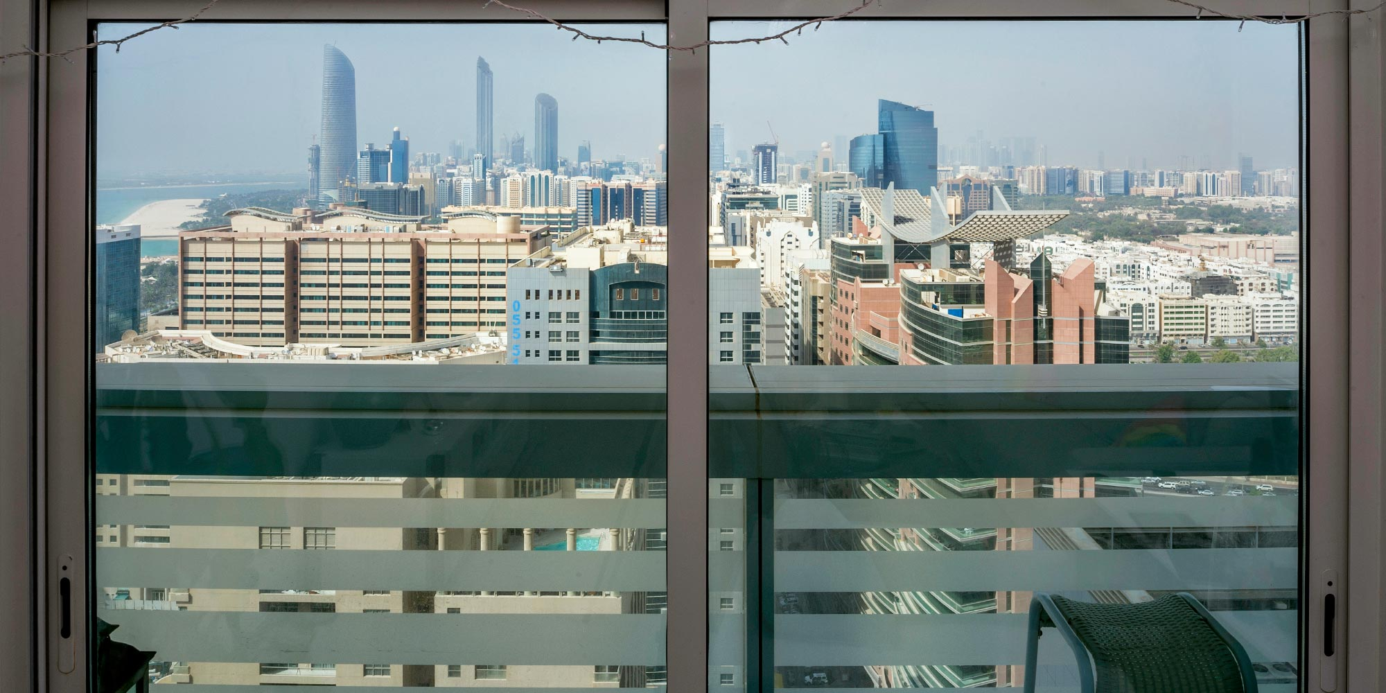 The View From Uros S Window In Abu Dhabi United Arab Emirates By